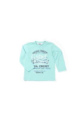 Zeyland Erkek Çocuk Yeşil T-Shirt - K-61KL3761