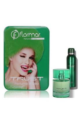 Flormar Trust Kadın Parfümü + Deodorant Hediyeli