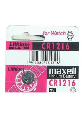 Maxell Cr-1216 Lityum Hafıza Pili 10'Lu