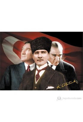 Puzz 1000 Parça Puzzle Atatürk 3 Portre