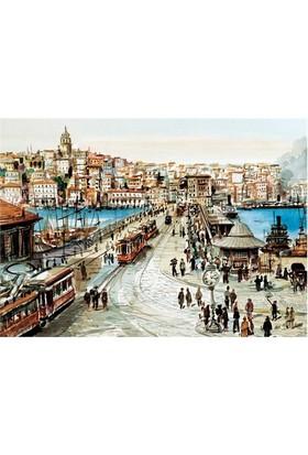 Puzz Puzzle Galata Köprüsü (1000 Parça)