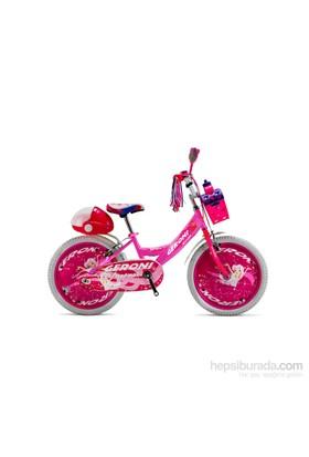 """Geroni Mermaid 20"""" Pembe Lady Kız Çocuk Bisikleti 6-9 Yaş"""