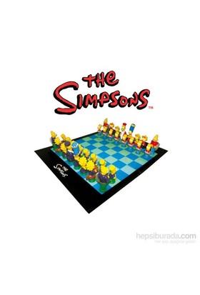 Simpsons Satranç Seti 3D Chess