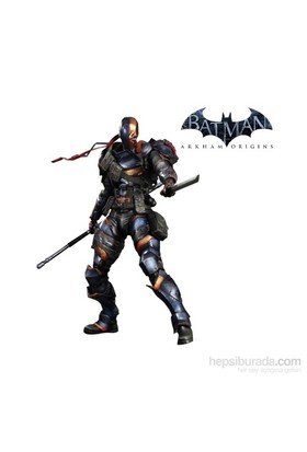 Batman Arkham Origins: Deathstroke Play Arts Kai Figure