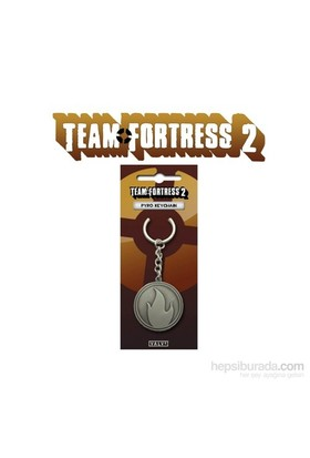 Team Fortress 2 Pyro Keychain Anahtarlık