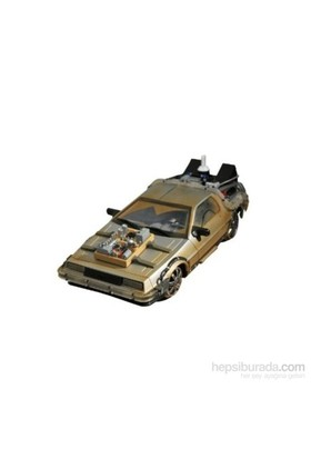 Back To The Future 3 Time Machine 1:15 Model Araba
