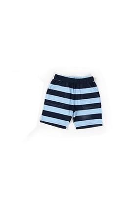 Zeyland Erkek Çocuk Mavi Çizgili Şort - K-61KL1710