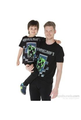 Köstebek Minecraft Çocuk Tişört