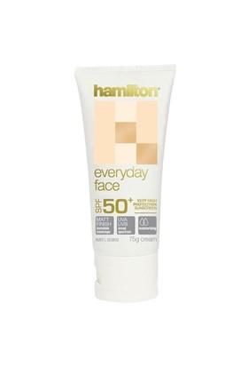 Hamilton Everyday Face Spf 50 Faktör 75 Ml Yüz için Güneş Kremi