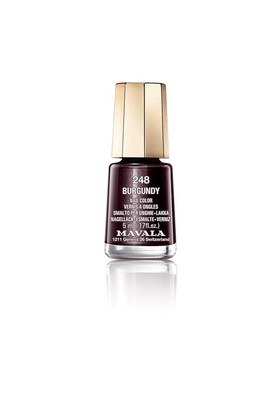 Mavala Mini Color Oje 248 - Burgundy
