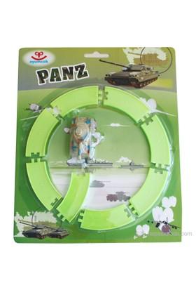 Oyumcak Panz Raylı Kurmalı Oyuncak