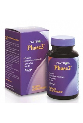 Natrol Phase 2 60 Tablet Doğal Fasulye Hapı