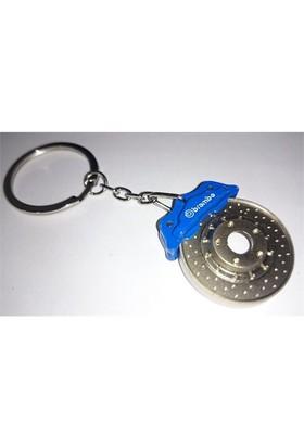 Sportif Brembo Anahtarlık Mavi