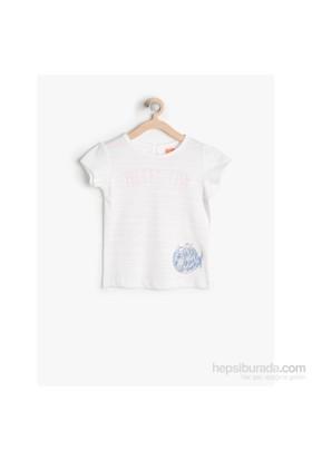 Koton Pembe T-Shirt Kısa Kol
