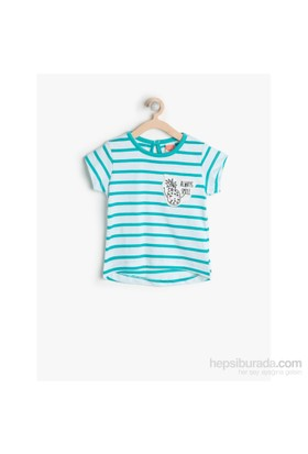 Koton Mint T-Shirt Kısa Kol