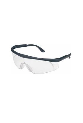 B533 Koruyucu Gözlük Şeffaf Siyah Çerçeveli