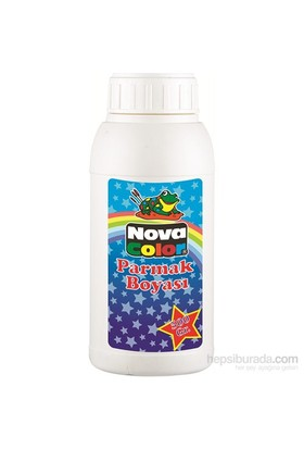 Nova Color Parmak Boyası 500 Gr Beyaz Nc-374