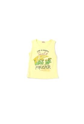 Zeyland Kız Çocuk Sarı Atlet - K-61KL5255