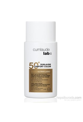 CUMLAUDE LAB SUNLAUDE SPF50+ Confort Color Ultrafluido 50 ml