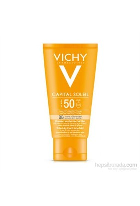 Vichy Ideal Soleil Tinted Dry Touch Face Fluid Spf50 50 Ml