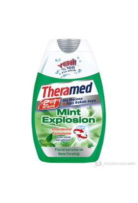Theramed Sıvı Diş Macunu Mint Explosion 75Ml