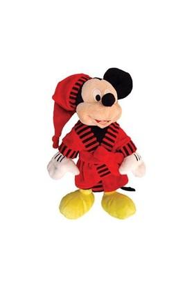 Mickey Mouse Bornozlu Peluş Oyuncak 28 cm