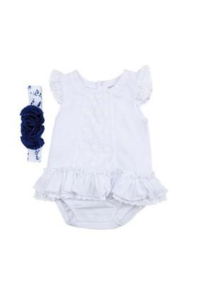 Zeyland Kız Çocuk Beyaz Body+ Sac Bandi K-51H662701