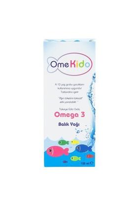 Omekido Omega 3 Balık Yağı 150 Ml Şeftali Ve Mango