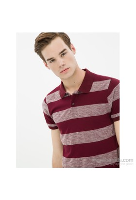 Koton Bordo Polo Yaka T-Shirt