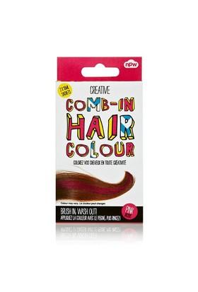 Npw Comb In Temp Haır Colour Pınk