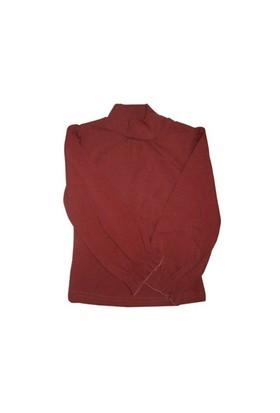 Zeyland Kız Çocuk Koyu Pembe Buzgu Yakali Bluz K-Kl12w764