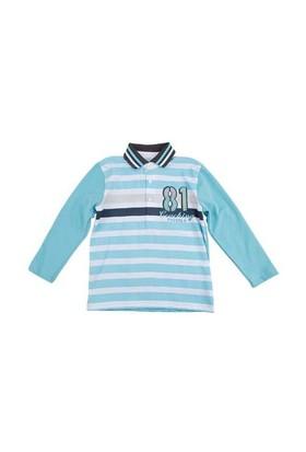 Zeyland Erkek Çocuk Mavi S-Shirt K-52M3bgm61