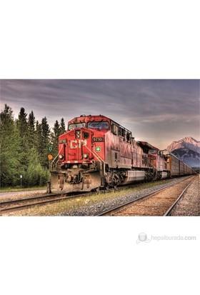 Educa 1500 Parça Puzzle Canadian Pacisific Train Entering Banff