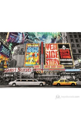 Educa 1000 Parça Puzzle New York Theatre Signs