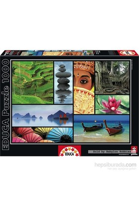 Educa Puzzle 1000 Parça Colours Of Asıa