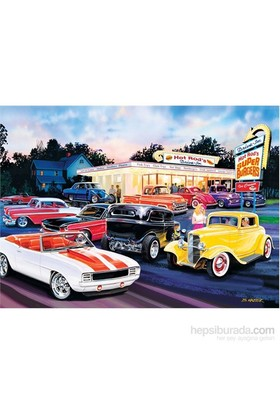 Masterpieces 1000 Parça Puzzle Hot Rod's Drive In - Cruisin'