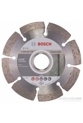 Bosch 2608602196 Beton Zeminler İçin Elmas Testere 115 Mm