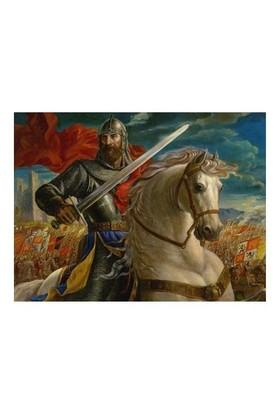 Masterpieces Puzzle The Warrior King (550 Parça)