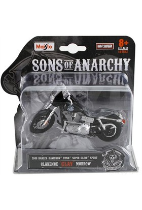 Maisto Sons Of Anarchy 2008 Harley Davidson Opie Model Motorsiklet