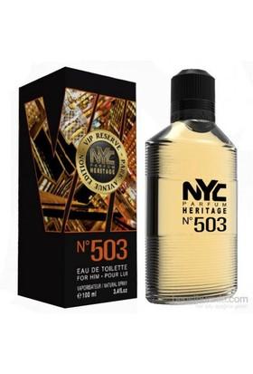 Nyc Park Avenue Vıp Reserve No 503 For Him Edt 100Ml