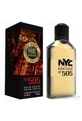 Nyc Park Avenue Vıp Reserve No 505 For Him Edt 100Ml