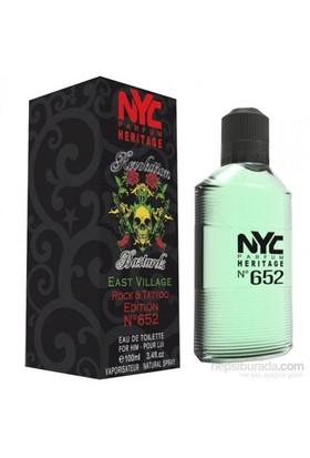 Nyc East Vıllage Rock Tattoo Edıtıon No 652 For Hım Edt 100Ml