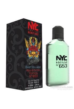Nyc East Vıllage Rock Tattoo Edıtıon No 653 For Hım Edt 100Ml