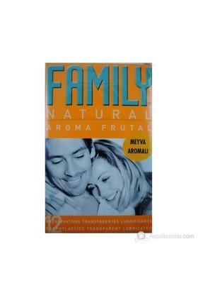 Family Meyve Aromalı Prezervatif 12'Li