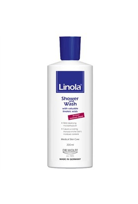 Linola Shower And Wash Duş Jeli 300Ml