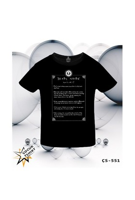 Lord T-Shirt Death Note - How To Use It T-Shirt