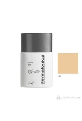 Dermalogica Cover Tint Light Spf 20 40 Ml - Fondöten Açık