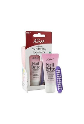 Kiss Nail Brite Whitening Exfoliator Tırnak Sararma Giderici 30 G