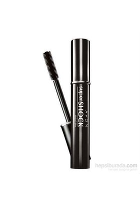Avon Super Shock Maskara Rimel 10 Ml Black-Siyah
