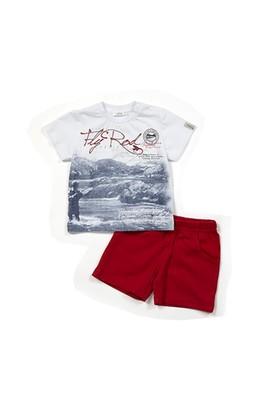 Zeyland Erkek Çocuk Kırmızı T-Shirt-Şort Takım - K-61M1MBA77